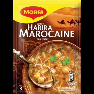 "Soupe déshydratée Harira à la marocaine ""Escapade"" MAGGI, 90g, 75cl"