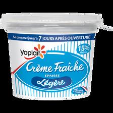 Crème fraîche épaisse 15% de MG, YOPLAIT, 200g