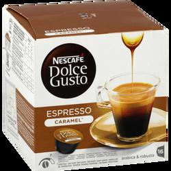 Espresso caramel NESTLE DOLCE GUSTO, x16 soit 80g