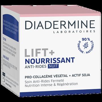 Diadermine Soin De Nuit Anti-rides Lift Nourrissant Diadermine, 50ml