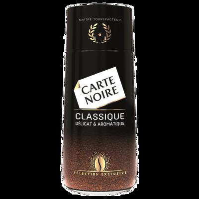 Café instant classic CARTE NOIRE SAS, paquet de 100g