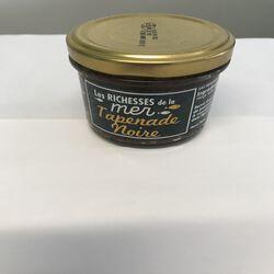 Tapenade noir  Les richesses de la mer  MERISUD bocal de 100g