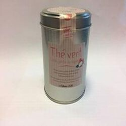 thé vert litchi, pêche de vigne LA CABANE A CAFE 90g
