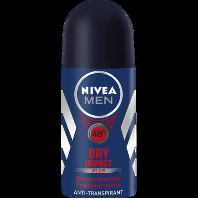 Déodorant Dry Impact Men NIVEA, bille de 50ml
