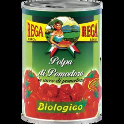Tomates concassées Bio REGA, 400g