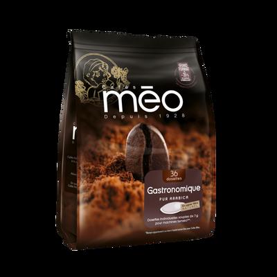 Café moulu espresso MEO, 52 dosettes, soit 364g