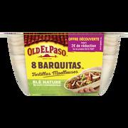Old El Paso Barquitas De Blé Nature Old El Paso, 8 Sachets De 193g