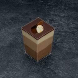Verre 3 chocolats, 2 pièces, 220g