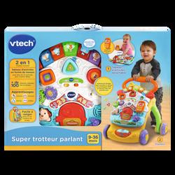 Vtech - Super trotteur parlant 2 en 1 (orange) - Dès 9 mois