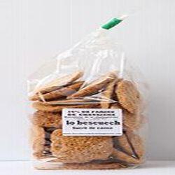 Lo bescuech sucre de canne, 16% de farine de châtaigne, Biscuiterie de la châtaigneraie, 160g