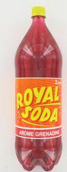 ROYAL SODA grenadine, bouteille de 2l