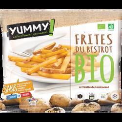Frites du bistrot bio surgelées Yummy, 450g