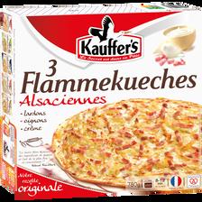 3 tartes flambées KAUFFER, 780g