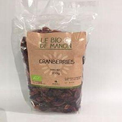 Cranberries LE BIO DE MANON