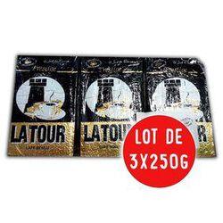 café moulu Prestige 100% Arabica LOT DE 3X250G - LA TOUR