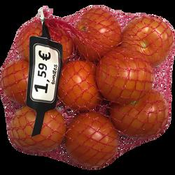Tomate ronde, segment Les rondes, catégorie 2, Maroc, filet 1kg