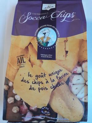 SOCCA CHIPS AIL120 GR