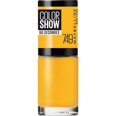 Vernis à ongles colorshow 749 électric yellow MAYBELLINE, nu