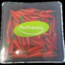 Mini piment rouge, Afrique du Sud, barquette 100g