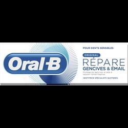Dentifrice original répare gencive et émail ORAL B, tube de 75ml