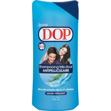 Shampooing très doux anti-pelliculaire DOP, flacon 400ml