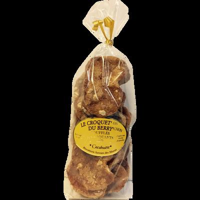 Le croquet'on du berry'chon soufflés et craquants goût cacahuète SAVEURS DES MARAIS, 160g
