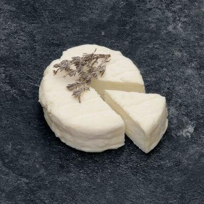 Fromage frais au lait cru de chèvre au thym, 13%MG, 90g