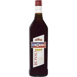 Apéritif Rosso CINZANO, 14°, bouteille de 1l
