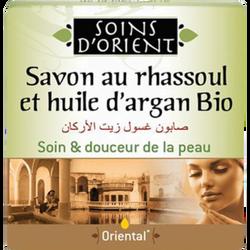Savon au rhassoul et huile d'argan SOINS D'ORIENT, 100g