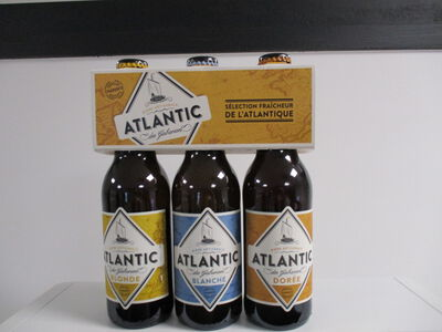 Bière artisanale Atlantic Des Gabariers 3x33CL