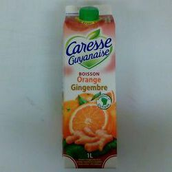 CARESSE GUYANAISE ORANGE GINGEMBRE 1L