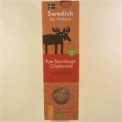 Lamelles de pain croustillant au seigle SWEDISH BY NATURE,130g