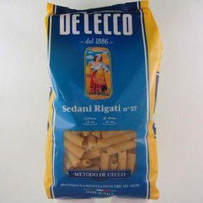 Pâtes Sedani Rigati N°57 DE CECCO, 500g