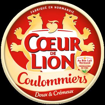 Cœur de Lion Coulommiers Lait Pasteurisé C Ur De Lion, 23%mg, 350g