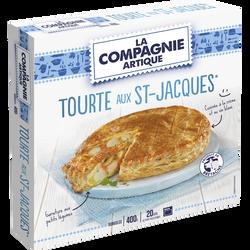Tourte aux St Jacques LA COMPAGNIE ARTIQUE, 400g