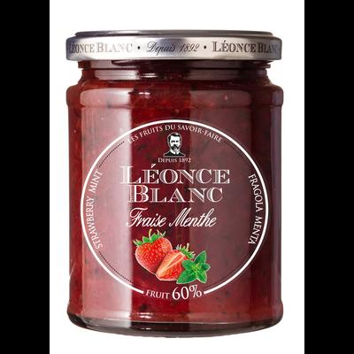 Préparation fraise menthe 60% LEONCE BLANC, 330g