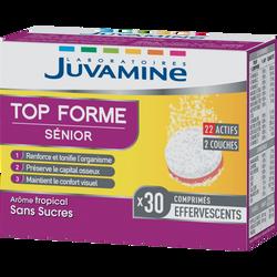 JUVAMINE NEW TOP FORME 50+, 30 comprimés bi-couche effervescents