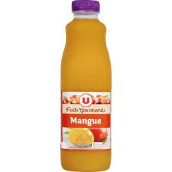 Jus à la mangue fruits gourmands U, 1l