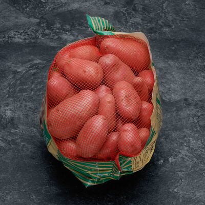 Pomme de terre nouvelle récolte Chérie, de consommation à chair ferme,Cal.35/55mm, Cat.1, France, filet 2,5kg