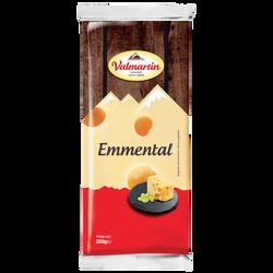 Emmental portion au lait pasteurisé VALMARTIN,  27% de MG, 250g