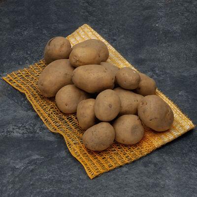 Pomme de terre Nicola, De consommation à chair ferme, BIO, calibre 35/55mm, catégorie 2, Espagne, filet 1,5kg