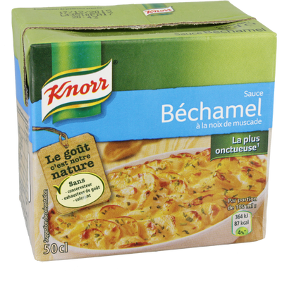 Sauce béchamel KNORR, 50cl