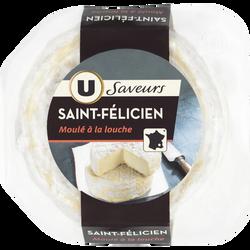 Saint Félicien au lait thermisé U SAVEURS, 27%MG, 180g