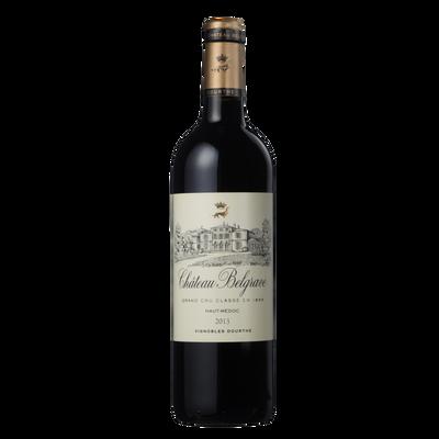 """Vin rouge AOC Haut Médoc """"Château Belgrave"""", 6 bouteilles 75cl"""