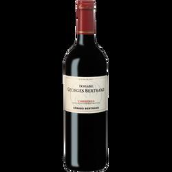 Vin rouge AOP Corbières Domaine GEORGES BERTRAND, bouteille de 75cl