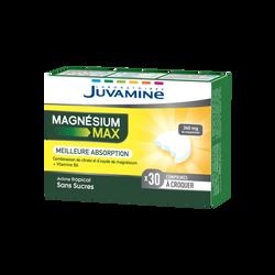 JUVAMINE MAGNÉSIUM MAX, 30 comprimés à croquer