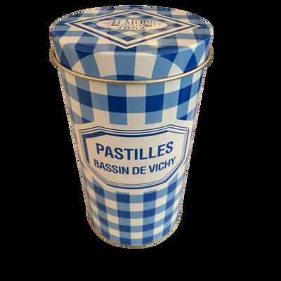 Pastilles du bassin de Vichy MOINET, boite à carreaux 350g