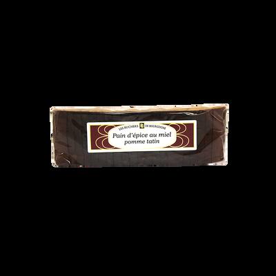 Pain d'épices pomme tatin tranché RUCHERS BOURGOGNE, 300g