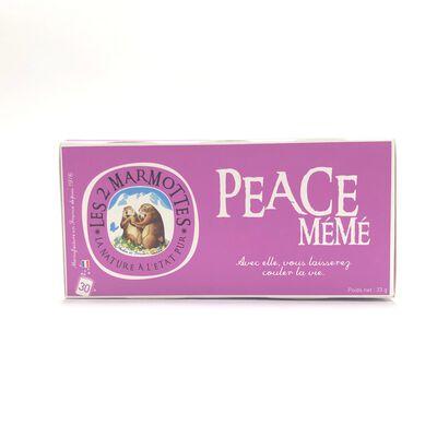 INF.PEACE MEME LES DEUX MARMOTTES