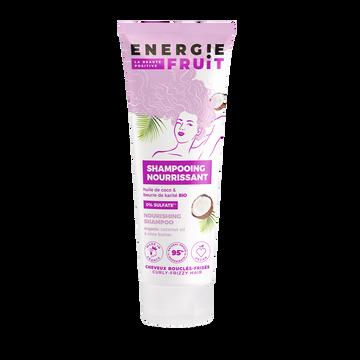 Energie Fruit Shampoing Pour Cheveux Bouclés Et Frisés Parfum Coco Et Beurre De Karité Energie Fruit, Flacon De 250ml